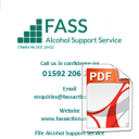 Fife Alcohol Support Service Leaflet