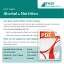 Alcohol & Nutrition